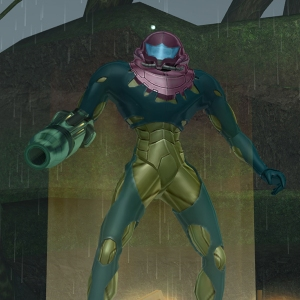 Metroid: Fusion Suit in Metroid: Prime